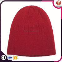 Knitted Beanie Hat With Tassel Crochet Knitted Hat Wholesale