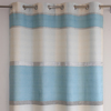 Classic European bedroom jacquard curtain panel match with bedding cover