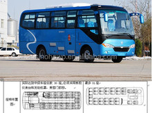 China brand ZHONG TONG LCK6750D4 the long distance bus with stable quality