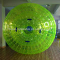 High quality inflatable green zorb ball zorb ball for bowling for sale