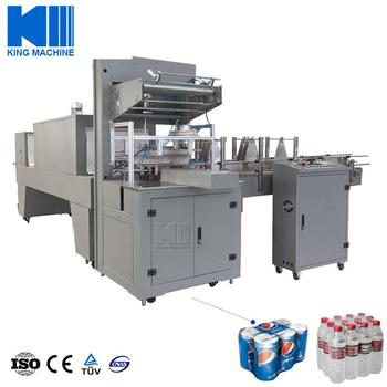 Flow wrapping pack machine
