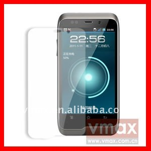 High clear anti-fingerprint screen shield for K-touch w700