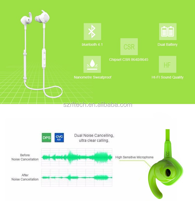 2017 Shenzhen china headphones bluetooth,wireless bluetooth earphones with CE FCC BQB