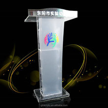 high quality sale of acrylic podium modern Design church pulpit