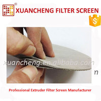 Thermoplastics Processing Use Spot Welded Filter