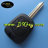 citroen key NO LOGO X type plastic key fob case with 2 button for citroen key cover