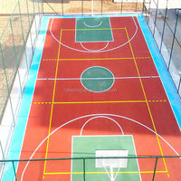 EPDM Rubber Outdoor Basketball Court Floor Coating (FL-A-41905)