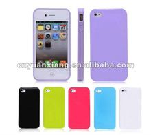 Wholesale charm diy silicone phone case for iphone 4 2012