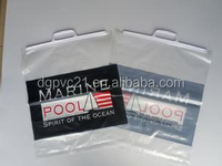 OEM product clear vinyl pvc bikini bag for packaging