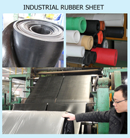 Excellent Properties custom thickness NBR SBR, EPDM, neoprene Rubber Sheet