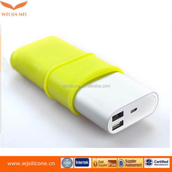 Various Device Useful Unique Soft Protective Power Bank Silicone Cover Factory
