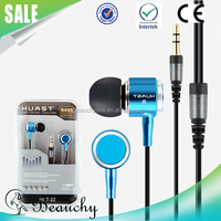 2016 Alibaba high quality mobile earphone for samsung for iphone multi-function wired earphone and stereo headphone