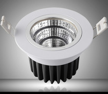 12w led spotlights shop fitting china / Led recessed lighting / Cut out 95mm downlight led for shopping mall