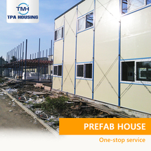 Best Choice Two Story Workers Dorm Steel Precast Camp Modern Luxury Prefab Houses Steel With 3 Bedrooms