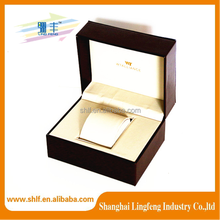 Customized luxury PU leather watch box paper