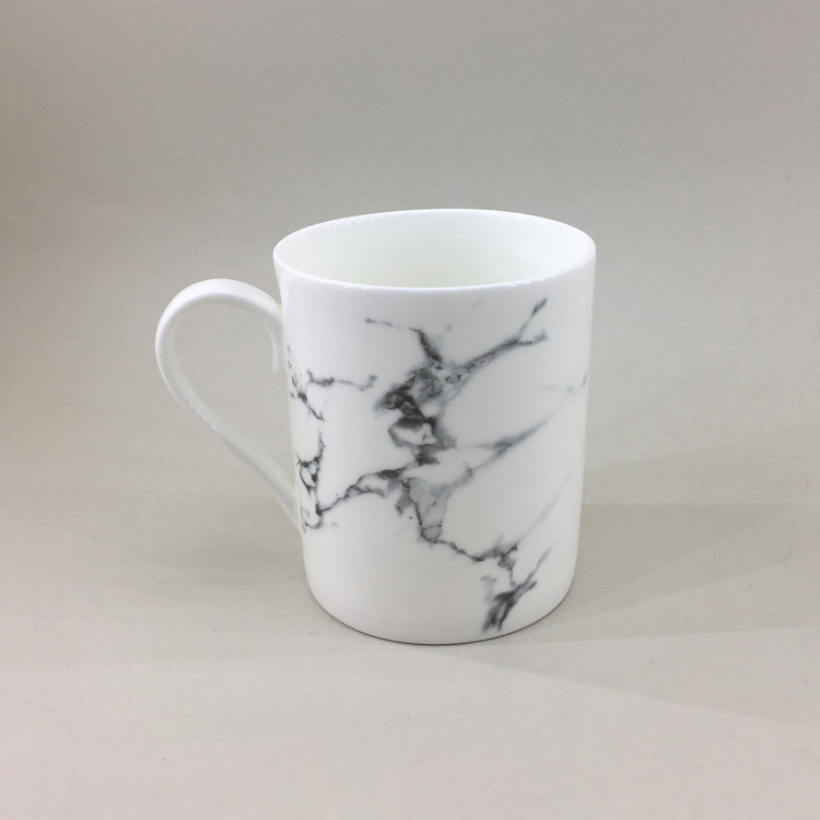 Factory supplier elegant china made plain western style wholesale ceramic mugs for coffee tea