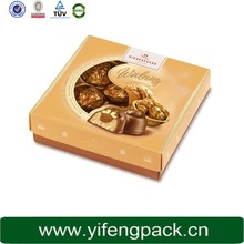newly development - fancy gift chocolate food weeding packaging paper box