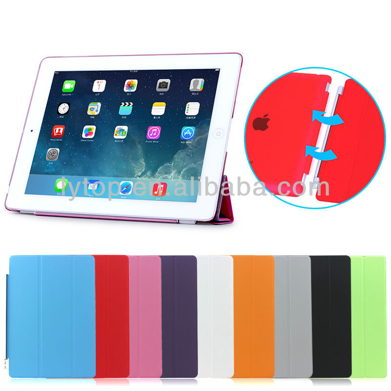 Wholesale Price Leather Stand Smart Cover For iPad 2 3 4 Tablet Case for iPad 2 3 4
