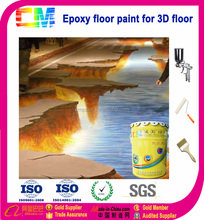 Home decor epoxy floor 3D coating