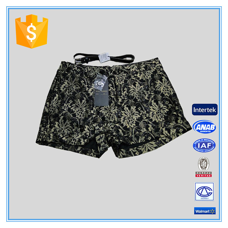 2016 Fashion Cheap Sexy Snow Print Women Camouflage Shorts