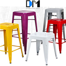 modern cheap metal frame kids bar stool for heavy people