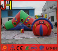 Inflatable caterpillar, inflatable worm tunnel for sale