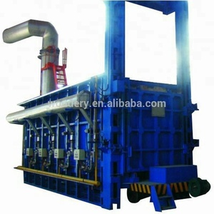 Energy Saving Bogie Hearth Gas Heat Treatment Furnace For High Manganese Parts