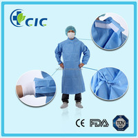 New Design Ultra Sonic Welding Blue SFS Operating Surgical Gown