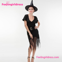 Direct Drop Ship Black Witch Halloween Costumes China Wholesale