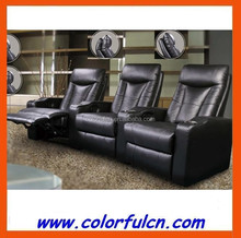 Pure Leather Recliner Sofa/Used Leather Recliners/Heated Leather Sofa LS613