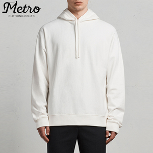 custom blank white oversized fit mens sportswear lightweight hoodies