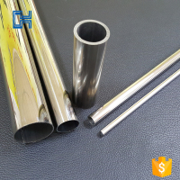 Small Diameter Size High Quality Chenhang High Copper Element 201 Pipe Price Meter Welded Stainless Steel Tubing
