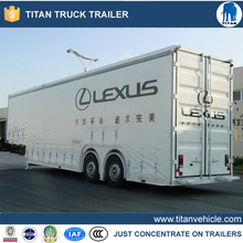 Long Distance Enclosed Vehicle Transport Car Carrier semi Trailer for auto transportation