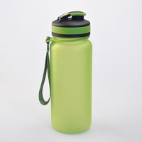 650ML tritan water bottle with flip flop lid. tritan water bottle, 650ML spray oil tritan water bottle with BPA FREE