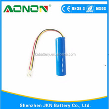 IEC62133 approved 2600mah 3.7v icr rechargeable 18650 li-ion battery