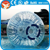 Germany inflatable zorb ball, glowing uk zorbing ball