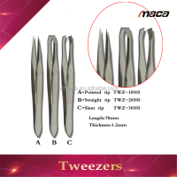 TW1020 fast delivery good wizzit personal eyebrow beauty tweezer for fancy lady