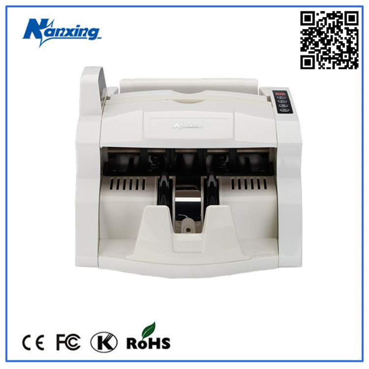 Professional Automatic Counting Bank Note Counter Machine with UV MG Counterfeit Detection