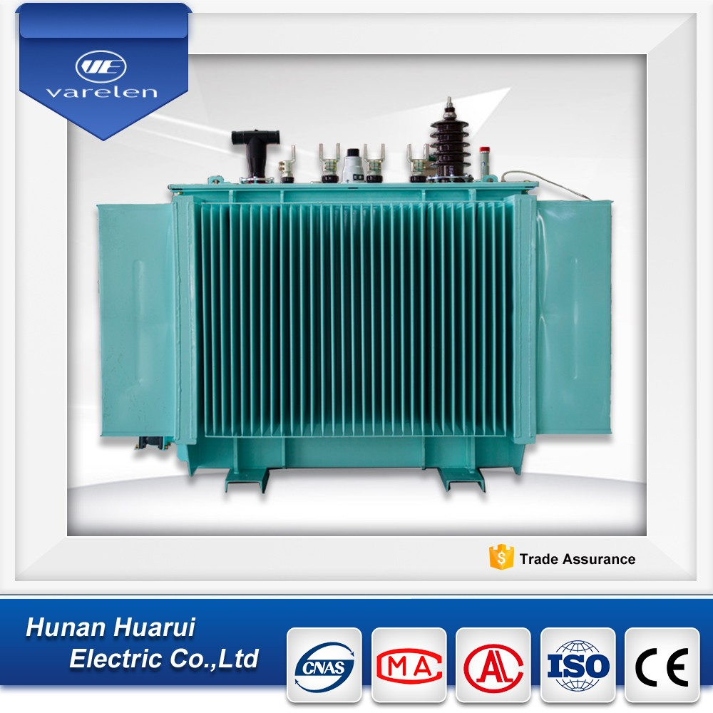 50~8000kva three phase step up oil- immersed power transformer