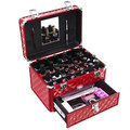 Aluminum professional nail beauty make up case