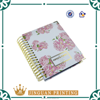Wholesale Custom Hard Cover Spiral Paper Notebook