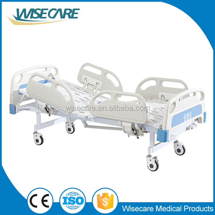 Medical Furniture Two cranks Hospital manual Bed with high quality
