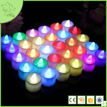 Battery Operated Flameless LED Tea Light Candles Mini Tea Light Led Candle