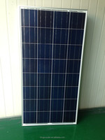 130W poly-crystalline solar panel