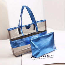 New Design Fashionable Women Clear PVC Tote Bag