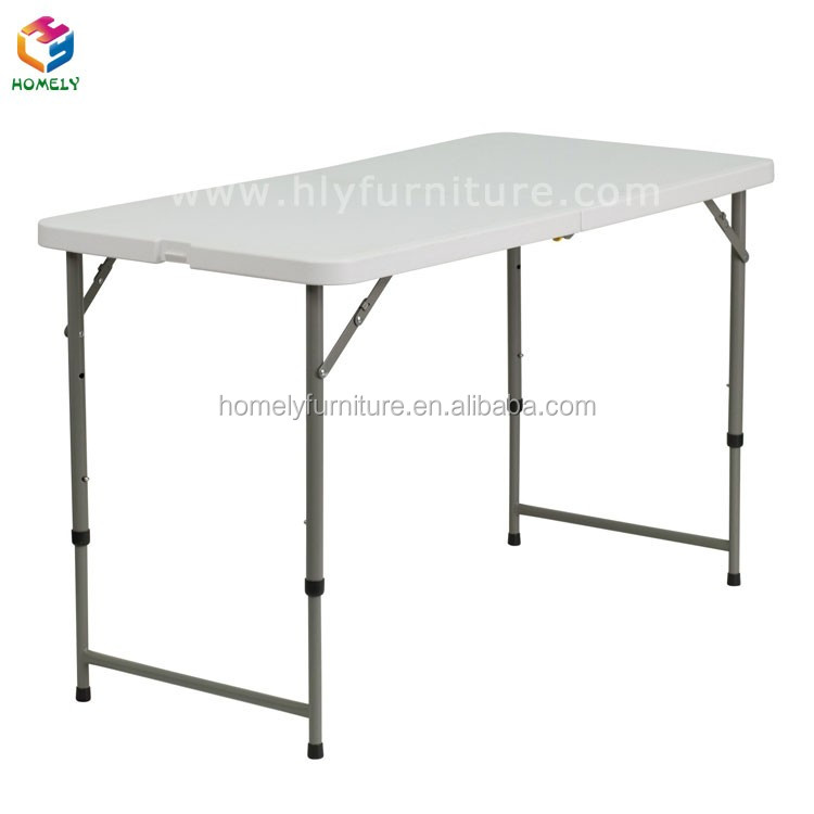 Cheap white outdoor furniture  plastic folding table