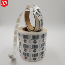 Printed Barcode Label Roll