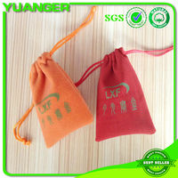 Fashion mini jewellery velvet pouch drawstring from China