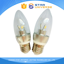 New Product 110/230V Input Voltage Low Voltage Led Candle Bulb