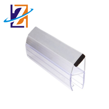 90 and 180 degree pvc magnetic seal strip for shower door
